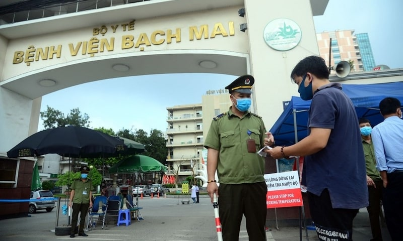 Bệnh viện Bạch Mai là một trong những địa chỉ thăm khám và chữa trị bệnh uy tín