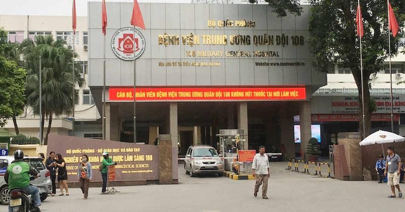 Khoa Răng của bệnh viện Trung ương Quân đội 108 là địa chỉ uy tín người bệnh có thể ghé đến
