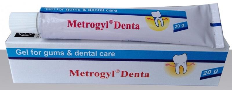 Thuốc chữa viêm lợi Metrogyl Denta
