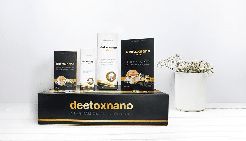 Thuốc trị hôi miệng tận gốc Detox Nano