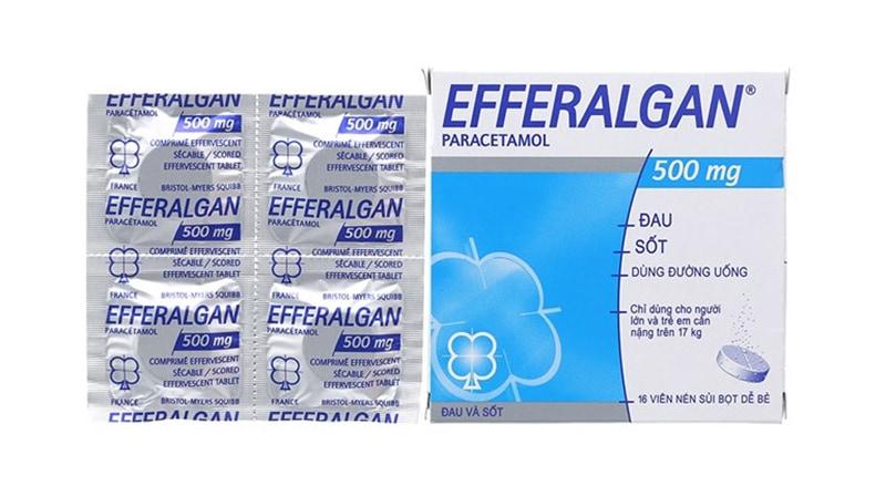 Efferalgan có thể giảm các triệu chứng đau nhức và khó chịu do viêm tủy răng gây ra.