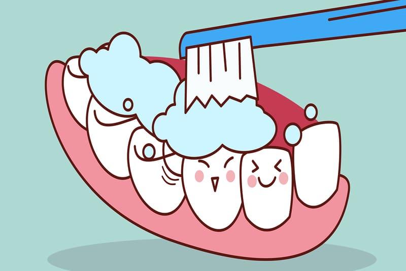 Chải răng đúng cách là biện pháp ngừa cao răng hiệu quả